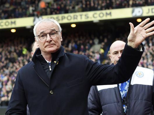Claudio Ranieri, tecnico del Leicester. Epa