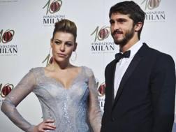Barbara Berlusconi, 31 anni, amministratore delegato del Milan, con il fidanzato Lorenzo Guerrieri, 26. LaPresse