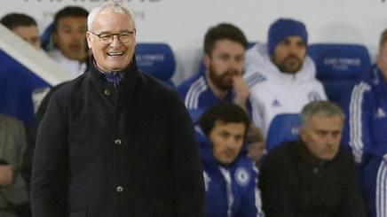 Claudio Ranieri, 64 anni, e sullo sfondo Jos� Mourinho, 53. Reuters/Getty Images