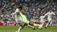 Il gol di Bale al City. Reuters