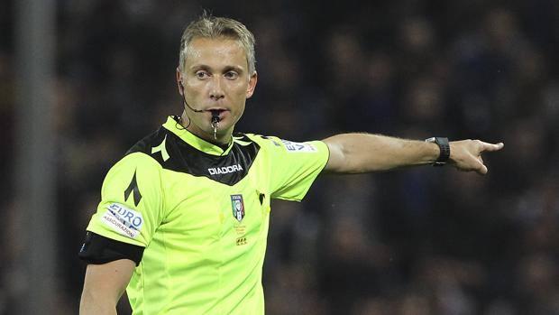 Paolo Valeri, 37 anni anni, arbitro internazionale della sezione di Roma. Getty Images