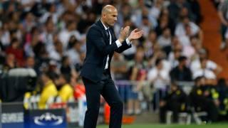 Zin�dine Zidane, 43 anni, allenatore Real Madrid. Getty Images