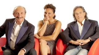 I Ricchi e Poveri: Franco Gatti, Angela Brambati e Angelo Sotgiu