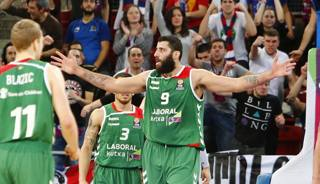 Ioannis Bourousis, candidato all'Mvp. Getty Images