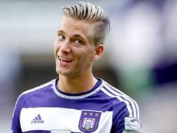 Dennis Praet, 21 anni, centrocampista belga dell'Anderlecht