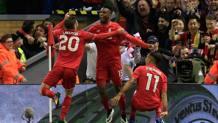 L'esultanza del Liverpool. Ap