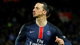 Zlatan Ibrahimovic, 34 anni. Reuters