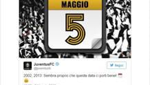 Il tweet della Juventus.
