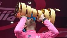Vincenzo Nibali, 31 anni, vincitore del Giro d'Italia 2016. Ansa