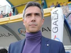 Paulo Sousa, 45 anni, allenatore portoghese della Fiorentina dall'estate 2015. LaPresse