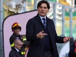 Vincenzo Montella, tecnico della Sampdoria. Ansa