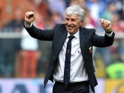 Gian Piero Gasperini, 58 anni, allenatore Genoa. ANSA