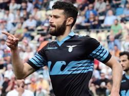 Antonio Candreva, 29 anni, autore del secondo gol per la Lazio. Ansa