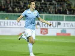 Miroslav Klose chiuder� l'avventura alla Lazio con la sfida contro la Fiorentina. LaPresse