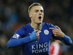 Jemie Vardy, 29 anni, attaccante Leicester. Action Images
