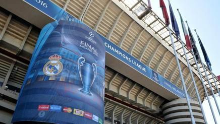 San Siro si prepara alla finale Champions di sabato 28 maggio. Arch. Gazz.