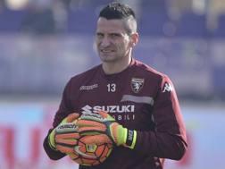 Luca Castellazzi, 40 anni, terzo portiere del Torino. LaPresse