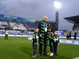 Giorgio Squinzi al Mapei Stadium. Getty