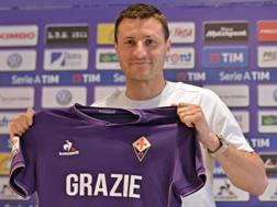 Manuel Pasqual, 34 anni, ex difensore della Fiorentina. Ansa