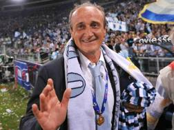 Delio Rossi, 55 anni, allenatore della Lazio dal 2005 al 2009. LaPresse