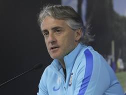 Roberto Mancini, 50 anni. Getty