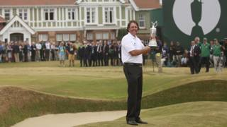 Mickelson ultimo ad aver vinto il British Open a Muirfield nel 2013. Ap