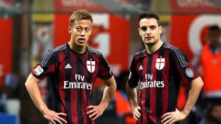 Keisuke Honda e Giacomo Bonaventura, talenti rossoneri in cerca di un trofeo salvastagione. Forte