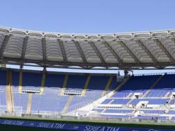 Lo stadio Olimpico di Roma.  Lapresse