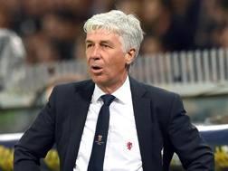Gian Piero Gasperini, 58 anni, allenatore del Genoa. Ansa