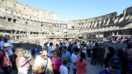 Il Colosseo, a Roma. LaPresse