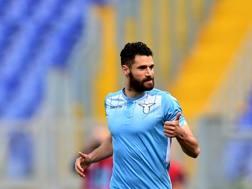 Antonio Candreva, l'esterno della Lazio piace a Inter e Atletico Madrid. AFP