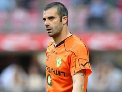 Stefano Sorrentino, 37 anni, portiere del Palermo, gi� al Chievo da 2008 al 2013. Forte Fabrizio
