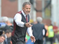 Sinisa Mihajlovic, 47 anni, ex allenatore del Milan. Ansa