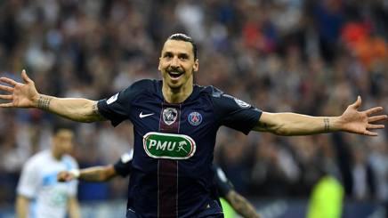 Zlatan Ibrahimovic, 34 anni. Afp