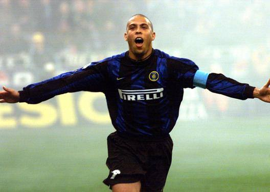 Ronaldo Nazario da Lima, ovvero il Fenomeno. Ansa