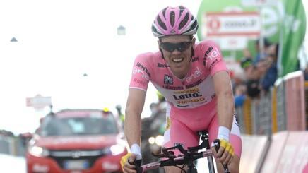 Steven Kruijswijk, 28 anni. Ansa