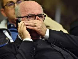 Carlo Tavecchio, 72 anni, presidente della Figc. Ansa
