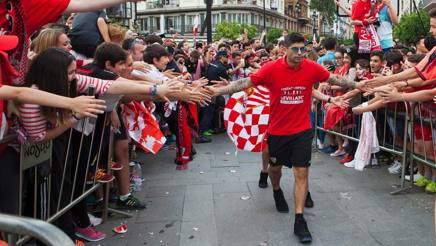Ever Banega, 27 anni , centrocampista argentino del Siviglia. Afp