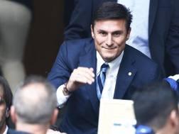 Javier Zanetti, 42 anni, vicepresidente dell'Inter. LaPresse