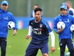 Armando Izzo,  24 anni, difensore del Genoa ed ex Avellino. LaPresse