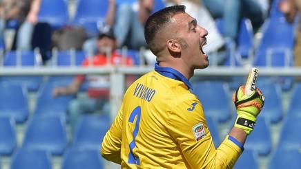 Emiliano Viviano, 30 anni, portiere della Sampdoria. Ansa