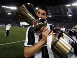 �lvaro Morata, 23 anni. Ansa