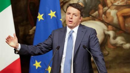 Il presidente del consiglio, Matteo Renzi. Reuters