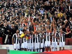 Festa bianconera in Coppa Italia. LaPresse