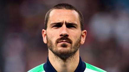 Leonardo Bonucci, 29 anni, difensore della Juventus. Forte Fabrizio