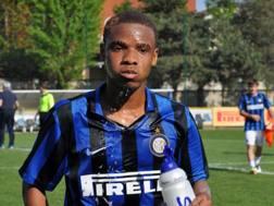 Wifred Zane Gnoukouri, 16 anni, attaccante dell'Inter Allievi. Foto Oddi