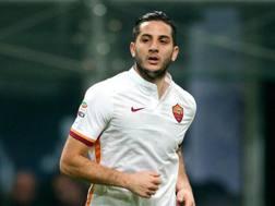 Kostantinos Manolas, 24 anni, difensore greco della Roma. Forte Fabrizio