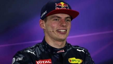 Max Verstappen, il pi� giovane di sempre a vincere un GP in F.1. LaPresse