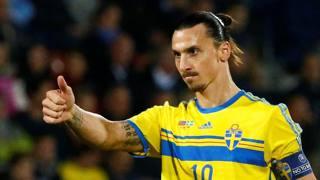 Zlatan Ibrahimovic, 34 anni, attaccante svedese al Milan dal 2010 al 2012. Reuters