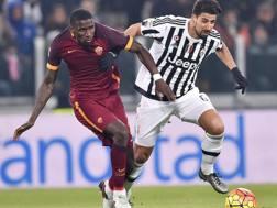 Antonio R�diger, 23 anni, prima stagione con la Roma. Ansa